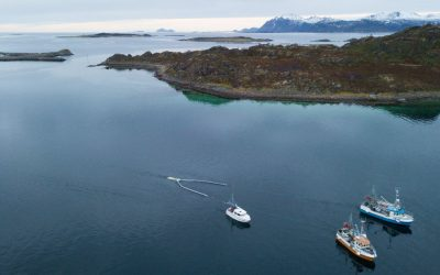 Companies in Lofoten have developed new methods for collecting garbage from the sea