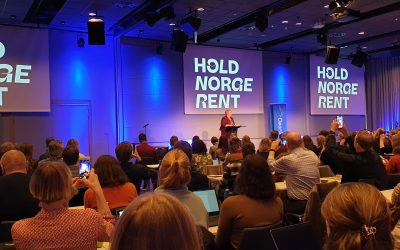 """Hold Norge Rent"" (Keep Norway Clean) -conference. February 4-6, 2020"