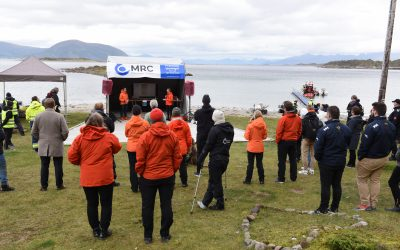 The MRC companies presented practical solutions on marine litter