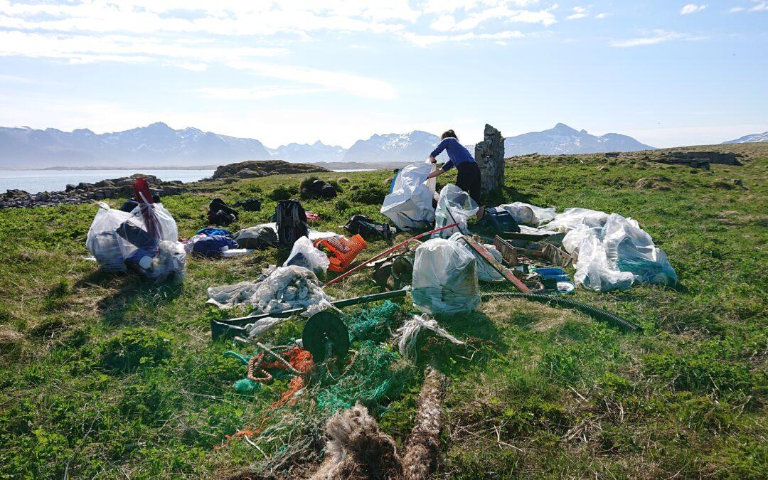 LAS får støtte til profesjonell strandrydding i Lofoten